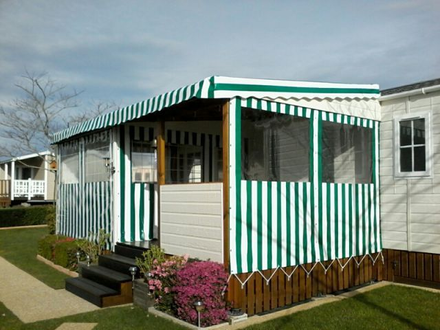 Toiles Terrasse Mobil-home